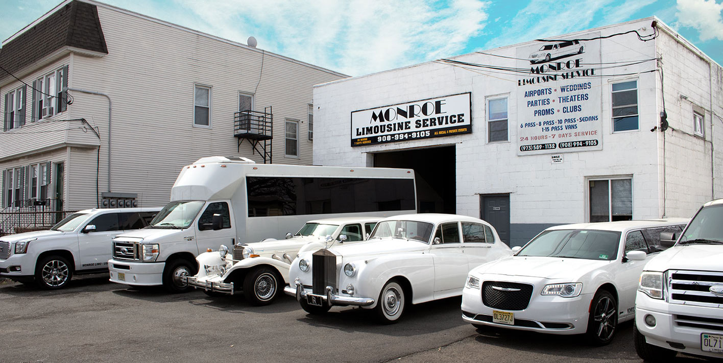 Monroe Limousine Fleet in Newark, New Jersey